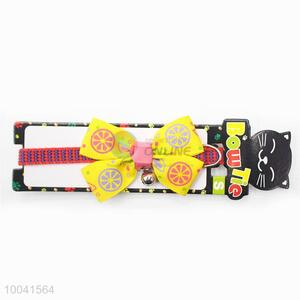 Wholesale Making 19-27CM Double-end Bowknot Cat Collar or Pet Collar & Poly-cotton