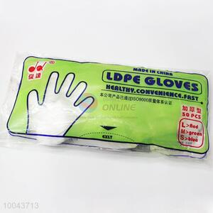 Wholesale products utulity one-off PE gloves