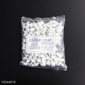 9mm Plastic Cable Clips Package Bag