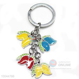 New design product paint oil craft key chains for sale