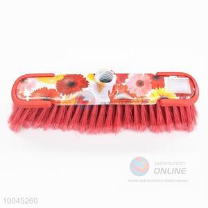 Floral Printing Broom Head