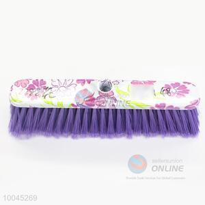 Flower Pattern Plastic Broom Head