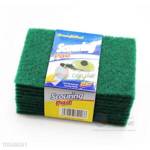 10Pcs Green Cleaning Scouring Pads