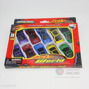 10 kinds , multi-color combination of car model pp car model toy