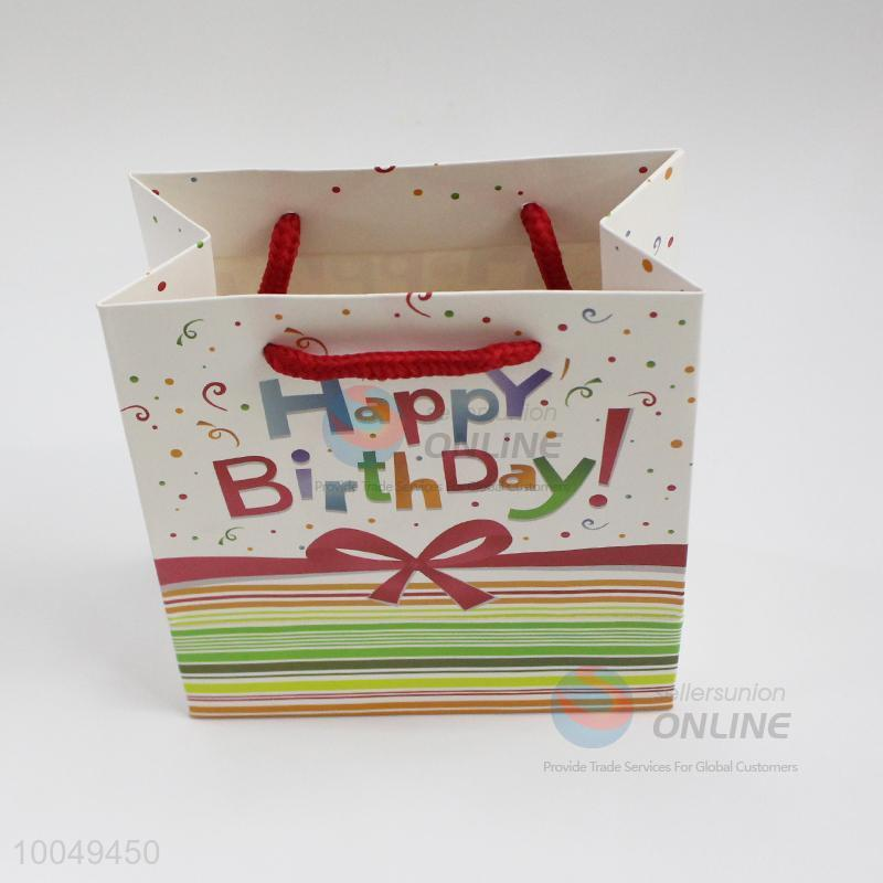 14157cm Happy Birthday Paper Gift Bag