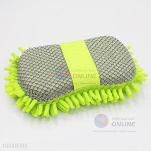 Hot Sale 22*11*6CM Green Cleaning Tool Chenille and Figure Eight Car Sponge Block