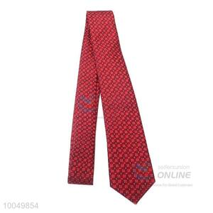 2016 Latest fashion cheap polyester silk men tie