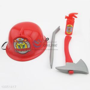 Best Selling Red&Grey City Fire Tools Set, Plastic  Game Toys for Children