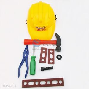 Popular Colourful Worker Tools Set, Plastic  Game Toys for Children