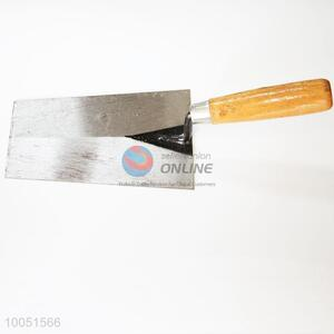 High quality iron plaster trowel with wooden handle