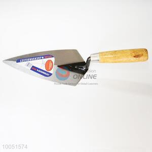 Safe Durable iron plaster trowel with wooden handle
