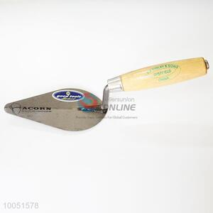 New 9 cun iron plaster trowel with wooden handle