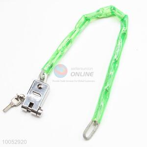 High quality 6mm*0.7m bicycle chain lock bike lock steel lock