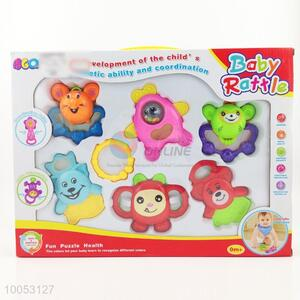 7 pieces infant toy/baby rattles