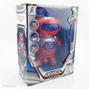 Flashing Electric Dancing Robot Toy