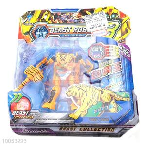 Beast Robot Collection white Tiger Wang Transformation Toys