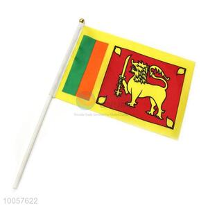 90*140CM Professional Polyester Sri Lanka National Flag Printed Flag without Flagstick