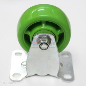 Hot sale 3cm green trolley caster wheel