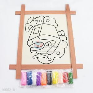 Kids educational toy magnetic drawing board