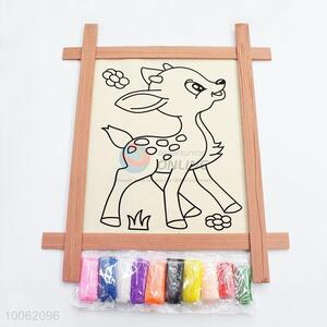 Cute deer pattern drawing board for kids