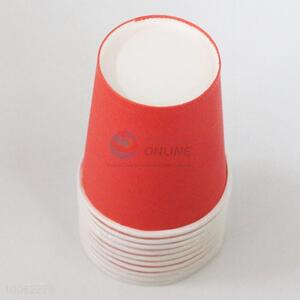 High Quality 7.5*8.5*5.5cm Eco-friendly Disposable Red Paper Cups for Party