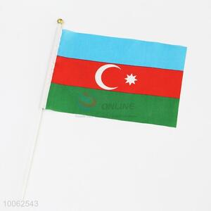 Dacron Flag of Azerbaijan National Flags Printing Hand Signal Flag