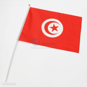 Dacron Flag of Tunisia National Flags Printing Flag With Pole