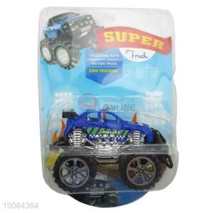 Hot Sale 25.5*17.5*9cm Blue&Black High Frequency Toy SUV for Children