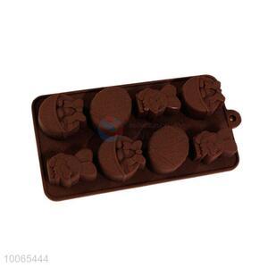 Catoon Figure Shaped Silicone Chocolate Mold