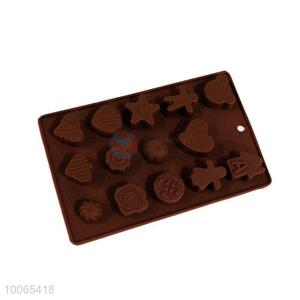 Leaves Shaped Silicone Chocolate Mold