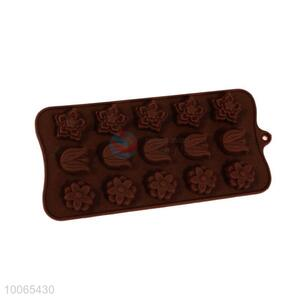 Flower Shaped  Silicone Chocolate Mold
