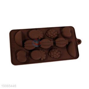Wholesale Fruit Shaped Silicone Chocolate Mold