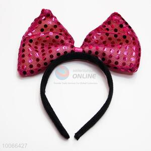 Red Bowkont Head Band Hairband for Girls