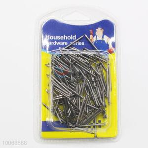 High Quality 2.5cm Round Iron Nails, 120 Pieces/Set