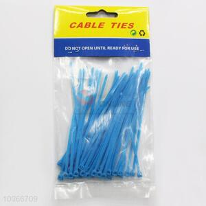 10cm Blue Cable Ties for Home Use, 100 Pieces/Set