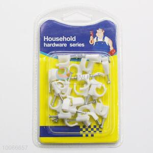 High Quality Household Cable Clip/Ply-Yarn Drill, 20 Pieces/Set