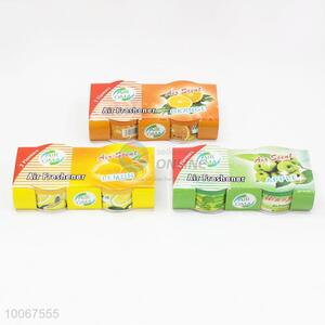 2pcs/set fruits flavours air sweet air freshener