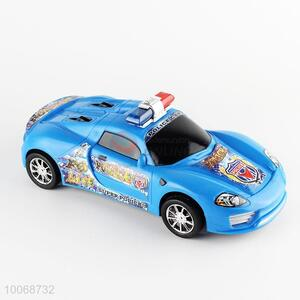 Hign Quality Plastic Inertia Police Car Toys for Kids