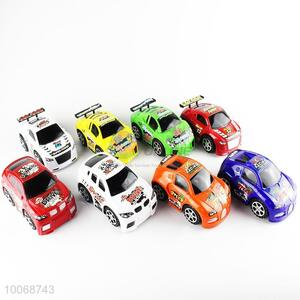 High Speed 8 Piece Plastic Inertia Race Car Toys for Kids