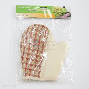 High quality exfoliating shower glove bath mitt