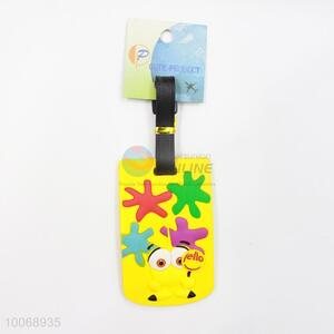 Colorful Flexible Glue Airline Luggage Tag