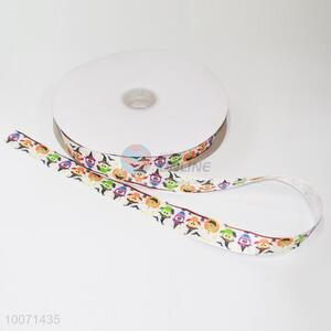 Halloween cute 100% polyester grosgrain ribbon