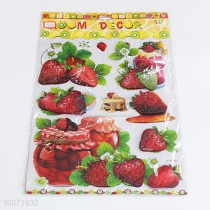 Strawberry wall sticker