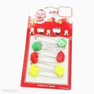 6pcs Children Safety Pins Set For Sale