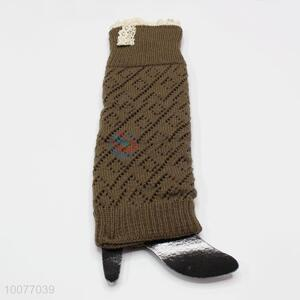 Wholesale Cheap Hot Sale Kintted Leg Warmers Lace Boot Socks