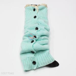 High Quality Leg Warmers with Buttons&Lace for Women