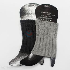 Best Selling Knitted Warm Leg Warmers as Gift