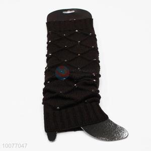 Hot Sale Warm Knitted Leg Warmers for Winter