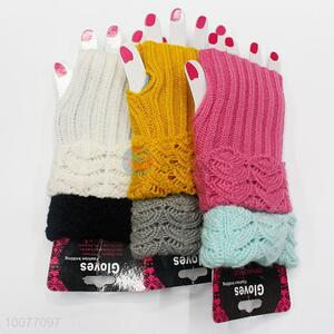 Best Selling Knitted Soft Gloves&Mittens without Fingers