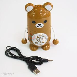 Popular Bear Cartoon Portable Fan/Small USB Fan